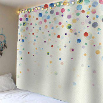 Ink Painting Dotted Waterproof Wall Art Tapestry