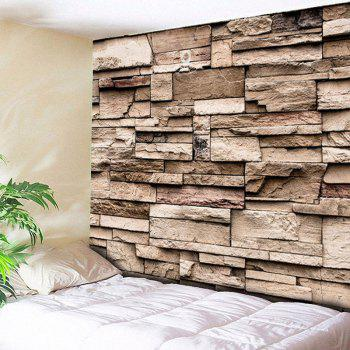 Brick Wall Hanging Printed Home Decor Tapestry