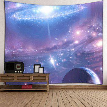 Star Sky Pattern Tapestry Microfiber Wall Hanging - VIOLET BLUE W59 INCH * L59 INCH