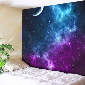 Night Sky Pattern Tapestry Microfiber Wall Hanging