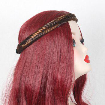 Colormix Fishbone Plaited Headband