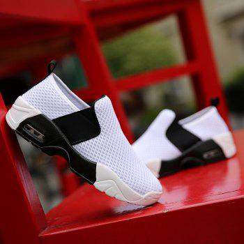 Elastic Band Breathable Mesh Athletic Shoes - 40 40