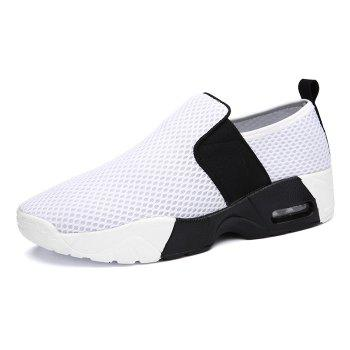 Elastic Band Breathable Mesh Athletic Shoes - 38 38
