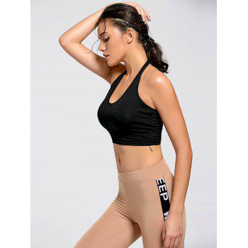 Active Crop Halter Top - S S