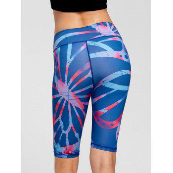 Active Pattern Fitness Shorts - M M