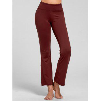 Stretch Bootcut Yoga Pants with Pocket