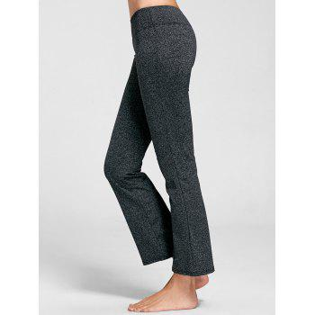 Marled Bell Bottom Yoga Pants