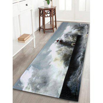 Surge Lighthouse Indoor Outdoor Coral Velvet Rug - GRAY GRAY