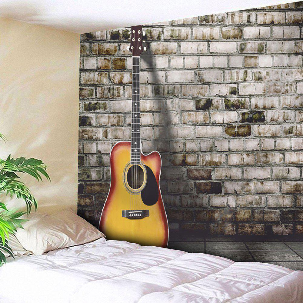 2018 guitar wall hanging home decor microfiber tapestry gray w inch l inch in wall tapestries. Black Bedroom Furniture Sets. Home Design Ideas