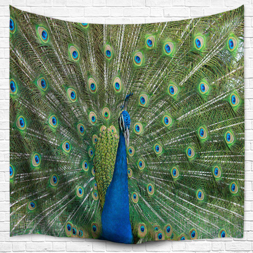 Peacock Wall Hanging Bedspread Blanket Throw Tapestry indian wall page blanket sticker hanging hippie landscape mandala bedspread ethnic throw art 5 styps