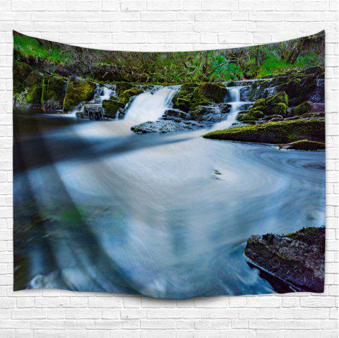 Wall Decor Hanging Blanket Waterfall Tapestry - COLORMIX W59 INCH * L79 INCH