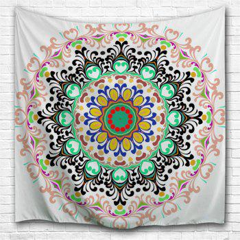 Indian Mandala Beach Blanket Wall Art Tapestry