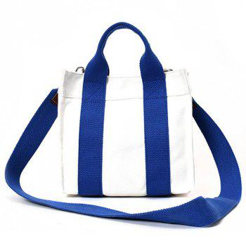 Canvas Stripe Tote Bag