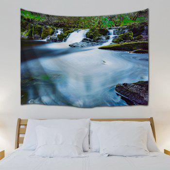 Wall Decor Hanging Blanket Waterfall Tapestry - COLORMIX W51 INCH * L59 INCH