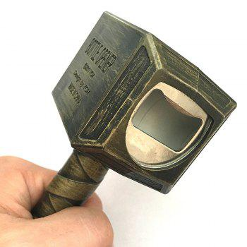 Hammer Shape Bottle Opener -  BRONZE