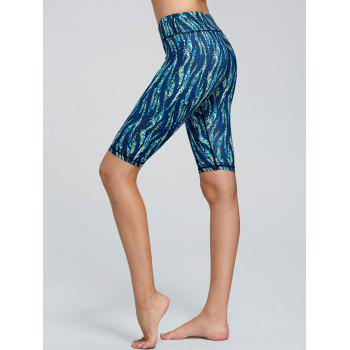 Pattern Short Active Leggings