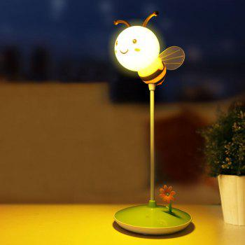 USB Charging Timing Cartoon Bee Desk Light