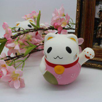 Simulation Fortune Cat Slow Rising Squishy Toy