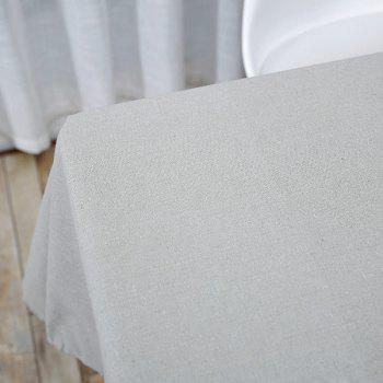 Linen Tablecloth for Kitchen - GRAY GRAY