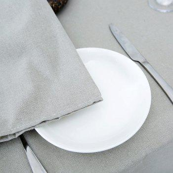 Linen Tablecloth for Kitchen - W55 INCH * L40 INCH W55 INCH * L40 INCH