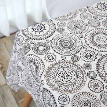 Bohemia Style Linen Dining Table Desk Cover - W55 INCH * L40 INCH W55 INCH * L40 INCH