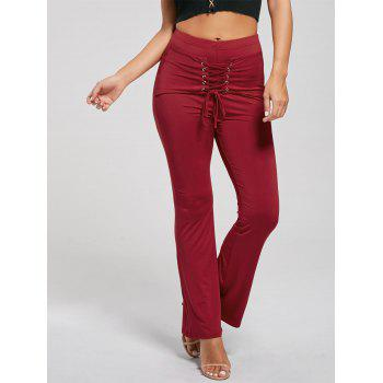 Lace Up Corset Pants