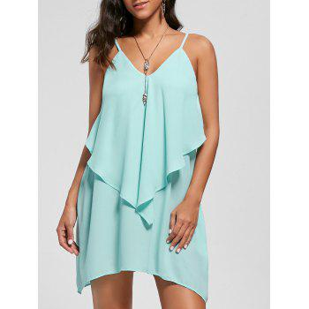 Overlay Flowy Mini Cami Dress