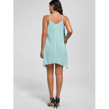 Overlay Flowy Mini Cami Dress - MINT XL