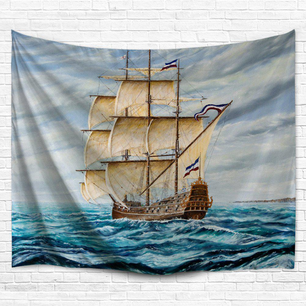 Nautical Bedspread Decor Wall Hanging Tapestry - COLORMIX W51 INCH * L59 INCH