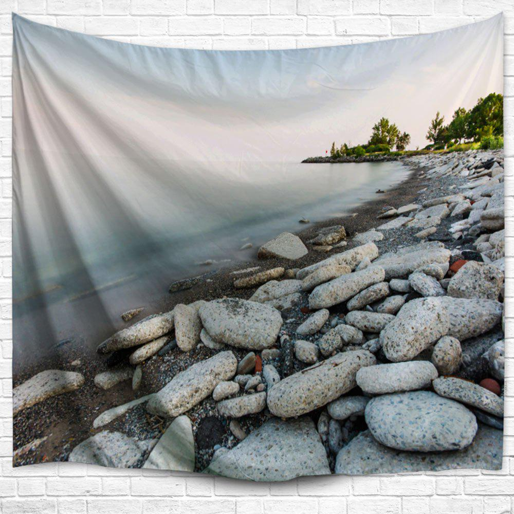 Outdoor Blanket Lakeside Stone Throw Hanging Tapestry new 2016 throw blanket 100