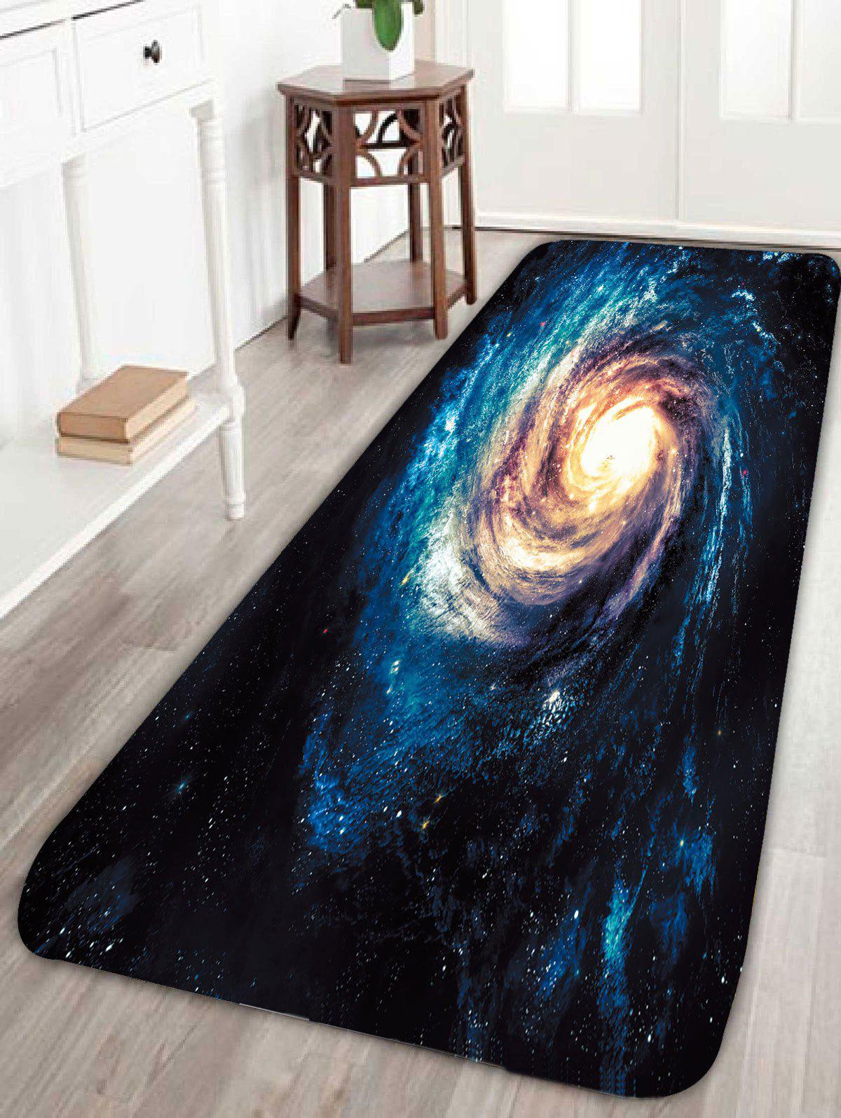 Outer Space Universe Star Print Skidproof Bath Rug flannel skidproof bath rug with butterfly print