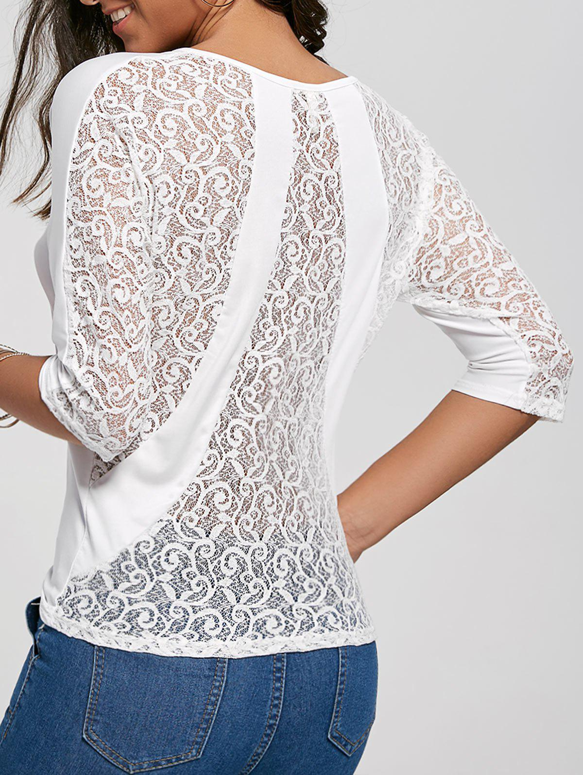 Back Lace Top 216716101