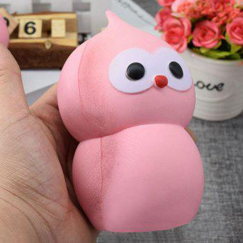 Lovely Simulation Gourd PU Slow Rising Squishy Toy - PINK 14CM*7.5CM