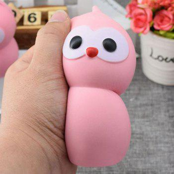 Lovely Simulation Gourd PU Slow Rising Squishy Toy - PINK 9.5CM*5.5CM