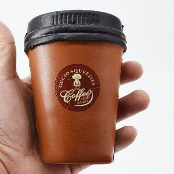 Squishy Toy PU Simulation Coffee Cup - COFFEE COFFEE