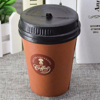 Squishy Toy PU Simulation Coffee Cup -  COFFEE