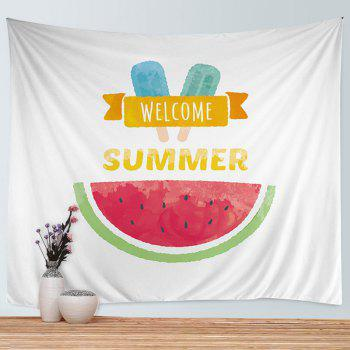 Wall Hanging Art Watermelon Ice Cream Print Tapestry