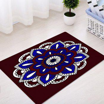 Mandala Bohemian Pattern Anti-skid Indoor Outdoor Area Rug - multicolorcolore W16 INCH * L24 INCH