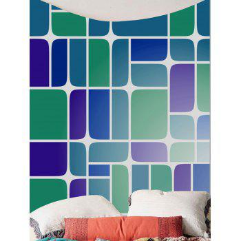 Geometry Print Home Decor Wall Hanging Tapestry - COLORMIX W79 INCH * L59 INCH