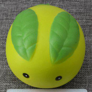 Simulation Toy Stress Relief Squishy Steamed Bun - GREEN GREEN