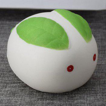 Simulation Toy Stress Relief Squishy Steamed Bun -  WHITE