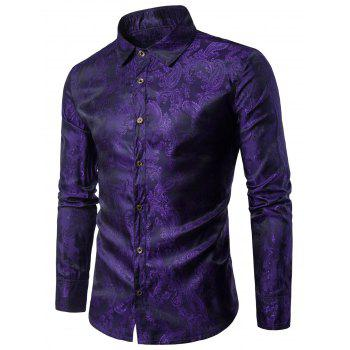Paisley Vintage Long Sleeve Shirt
