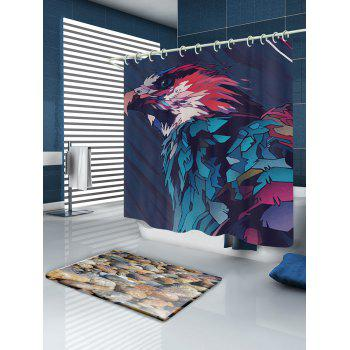 Eagle Painting Print Fabric Bathroom Shower Curtain - COLORMIX COLORMIX