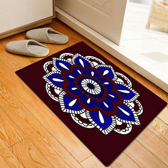 Mandala Bohemian Pattern Anti-skid Indoor Outdoor Area Rug - multicolorcolore W20 INCH * L31.5 INCH