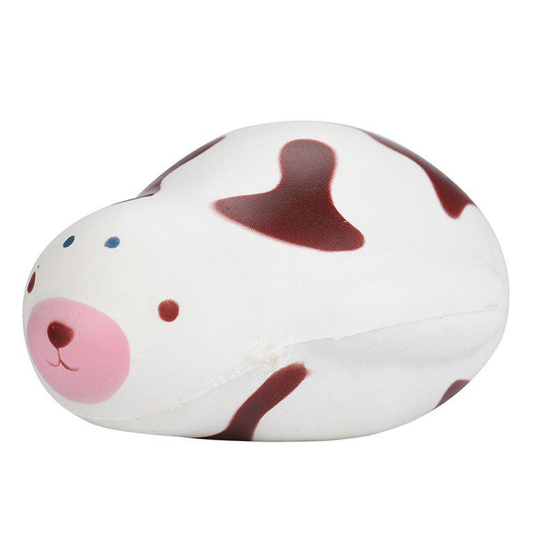 PU Slow Rising Squishy Toy Simulation Cute Seal - Café