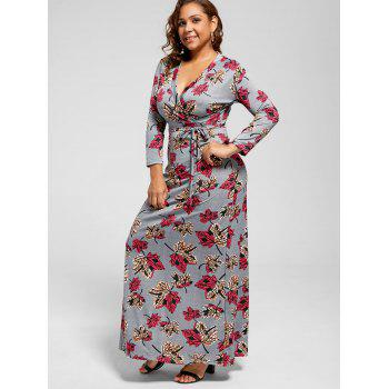 Robe imprimée Leaf Length - multicolor 5XL