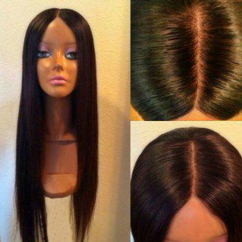Ultra Long Center Parting Silky Straight Synthetic Wig