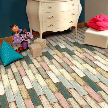 Wood Stone Self Adhesive Floor Sticker - COLORFUL COLORFUL