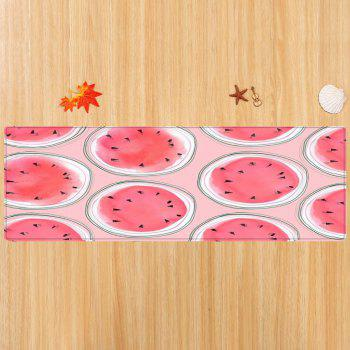 Cartoon Watermelon Pattern Indoor Outdoor Area Rug - W16 INCH * L47 INCH W16 INCH * L47 INCH