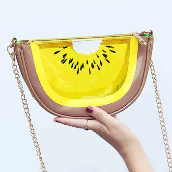 Transparent Fruit Shaped Crossbody Bag